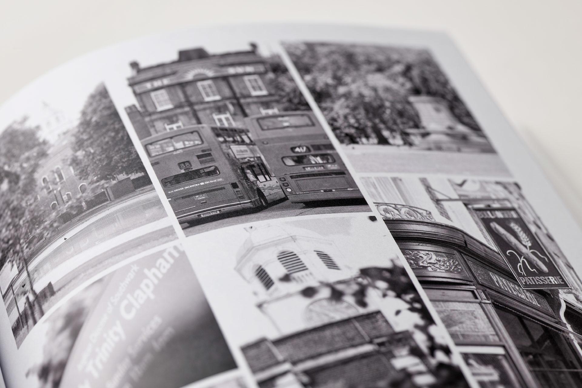 Gestaltungskonzepte von Broschüren, Umschlagseite