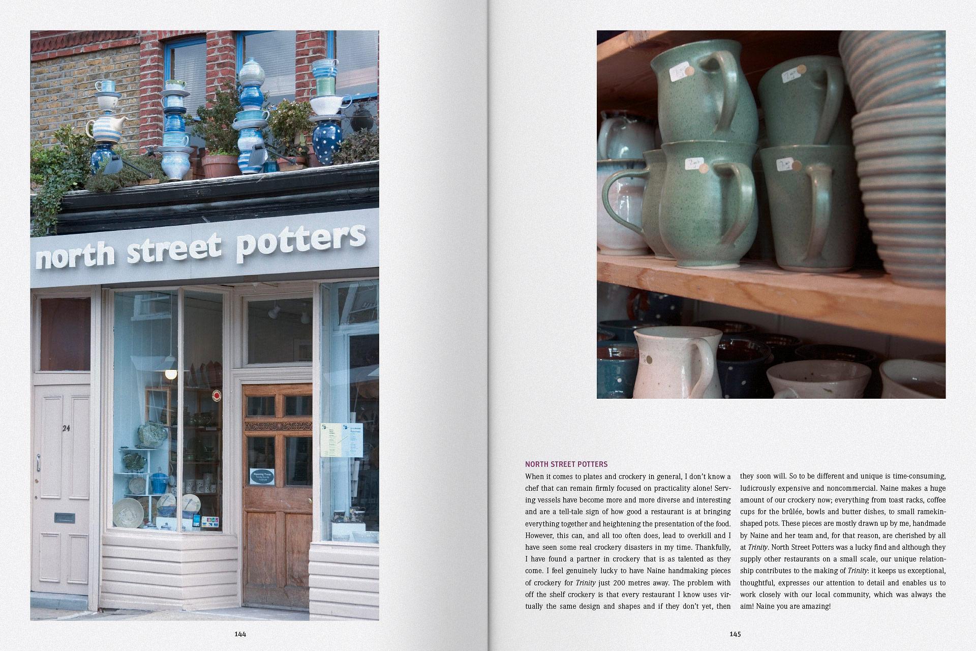 Gestaltungskonzepte von Broschüren, Seite eins