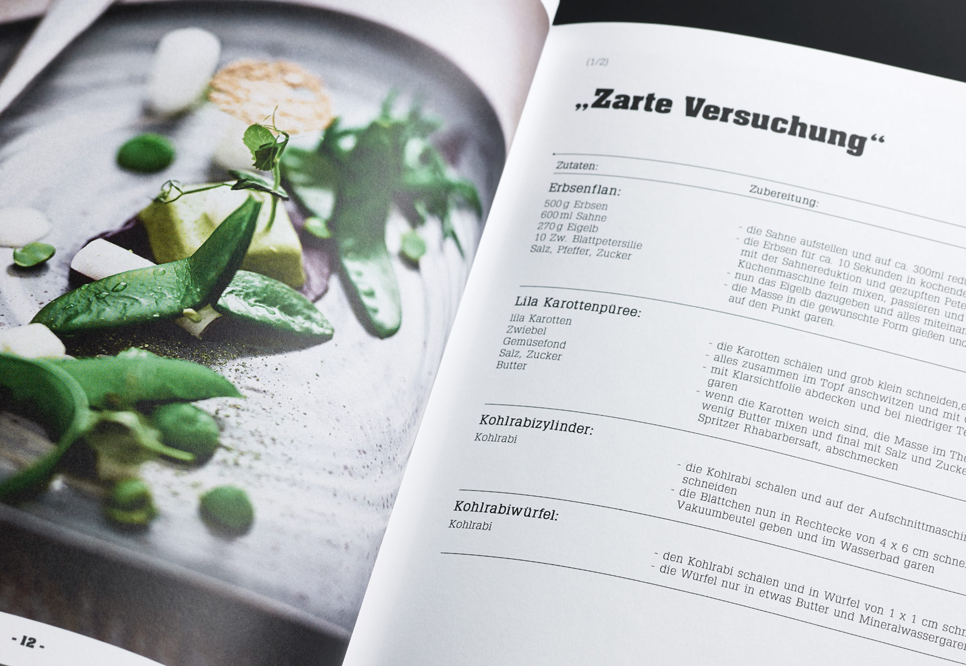 Druckerzeugnisse für die Gastronomie und Hotellerie 19a