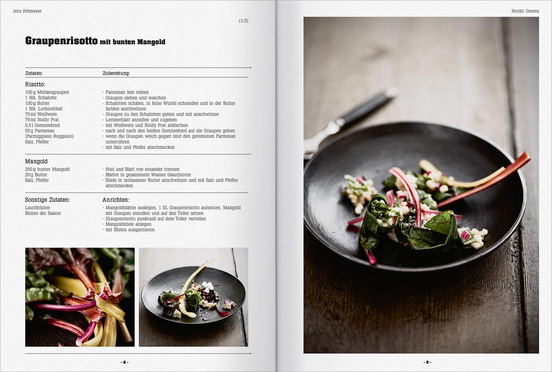 Druckerzeugnisse für die Gastronomie und Hotellerie 17a