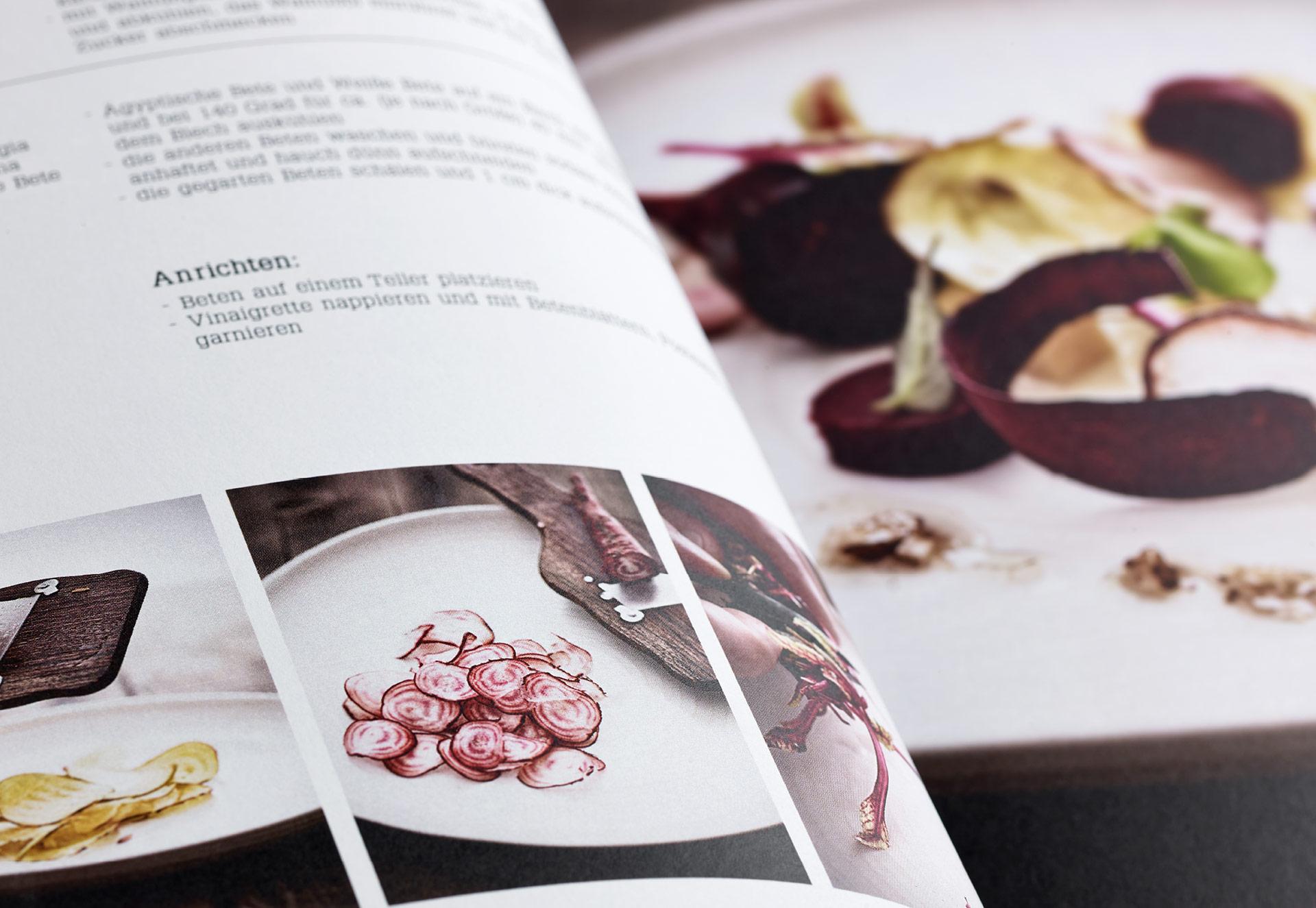 Speisekarte und Prospektgestaltung für die Gastronomie Seite 8