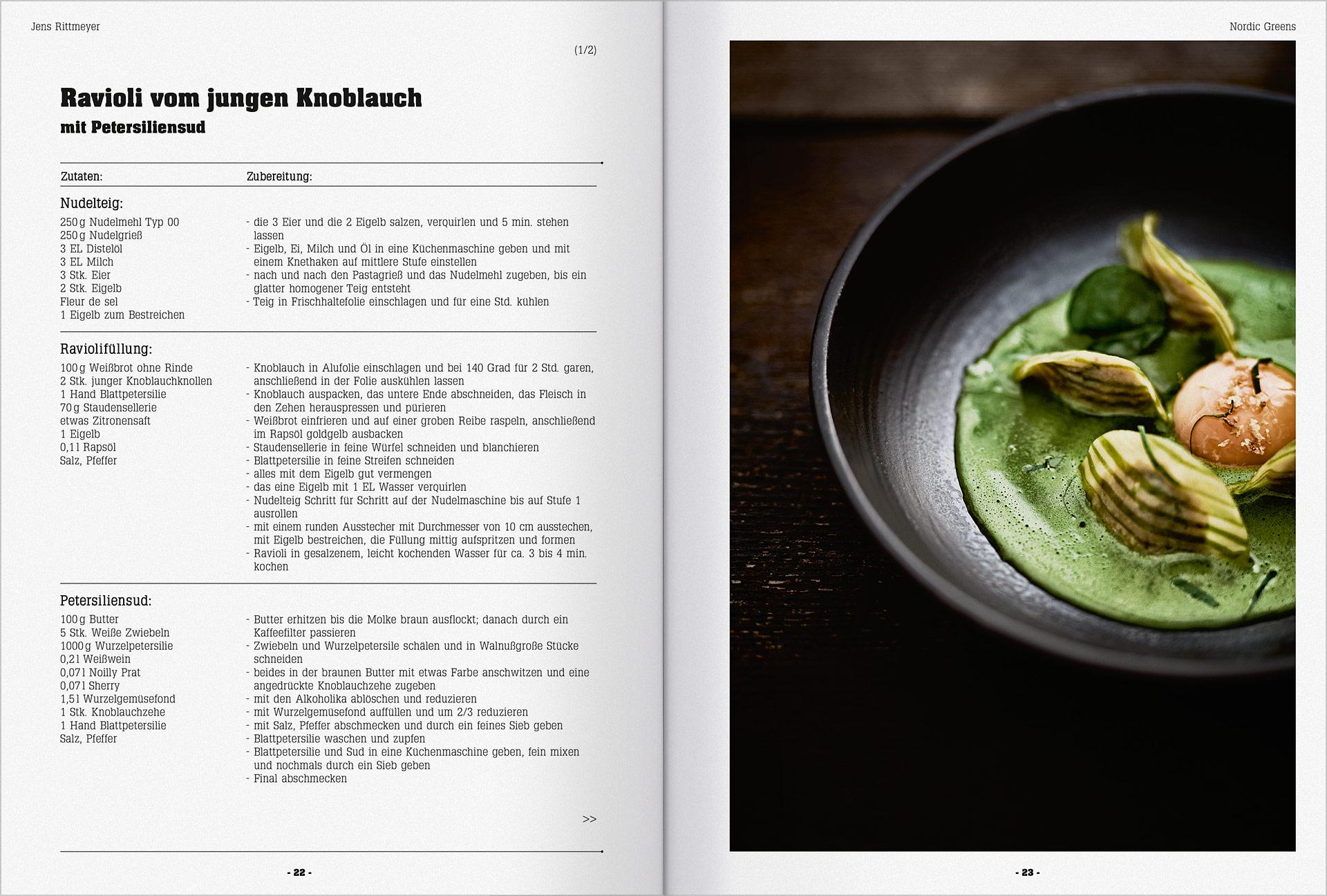 Druckerzeugnisse für die Gastronomie und Hotellerie 15a