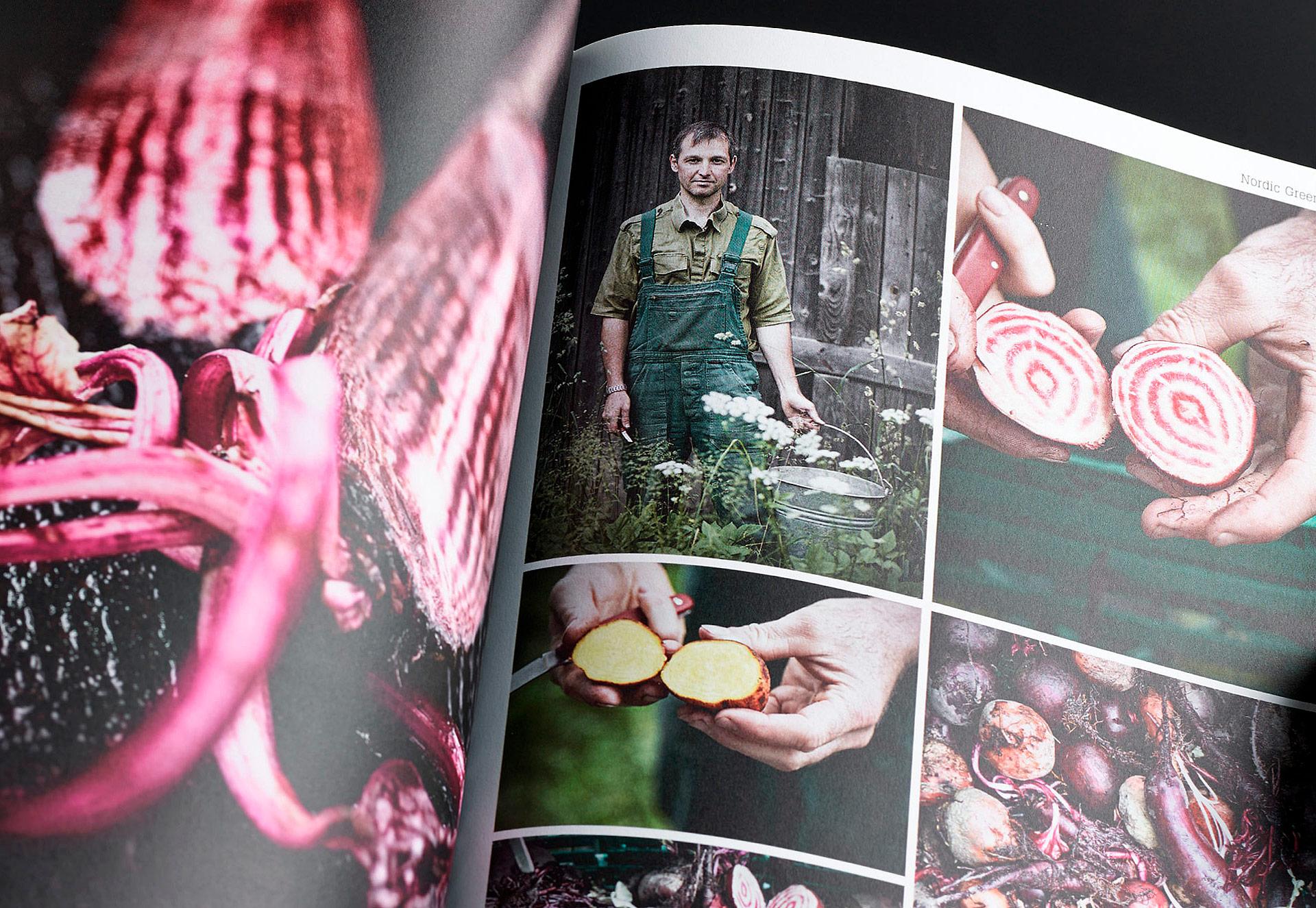 Speisekarte und Prospektgestaltung für die Gastronomie Seite 34a