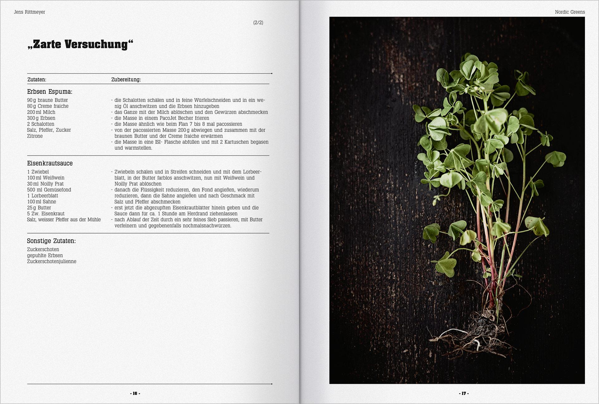 Speisekarte und Prospektgestaltung für die Gastronomie Seite 5