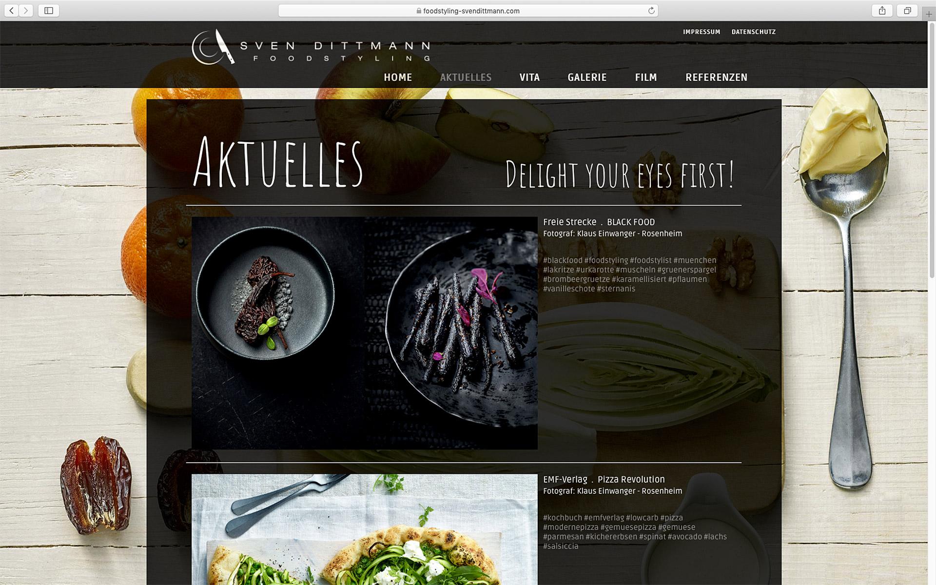 SEO Optimierte Homepage für die Gastronomie