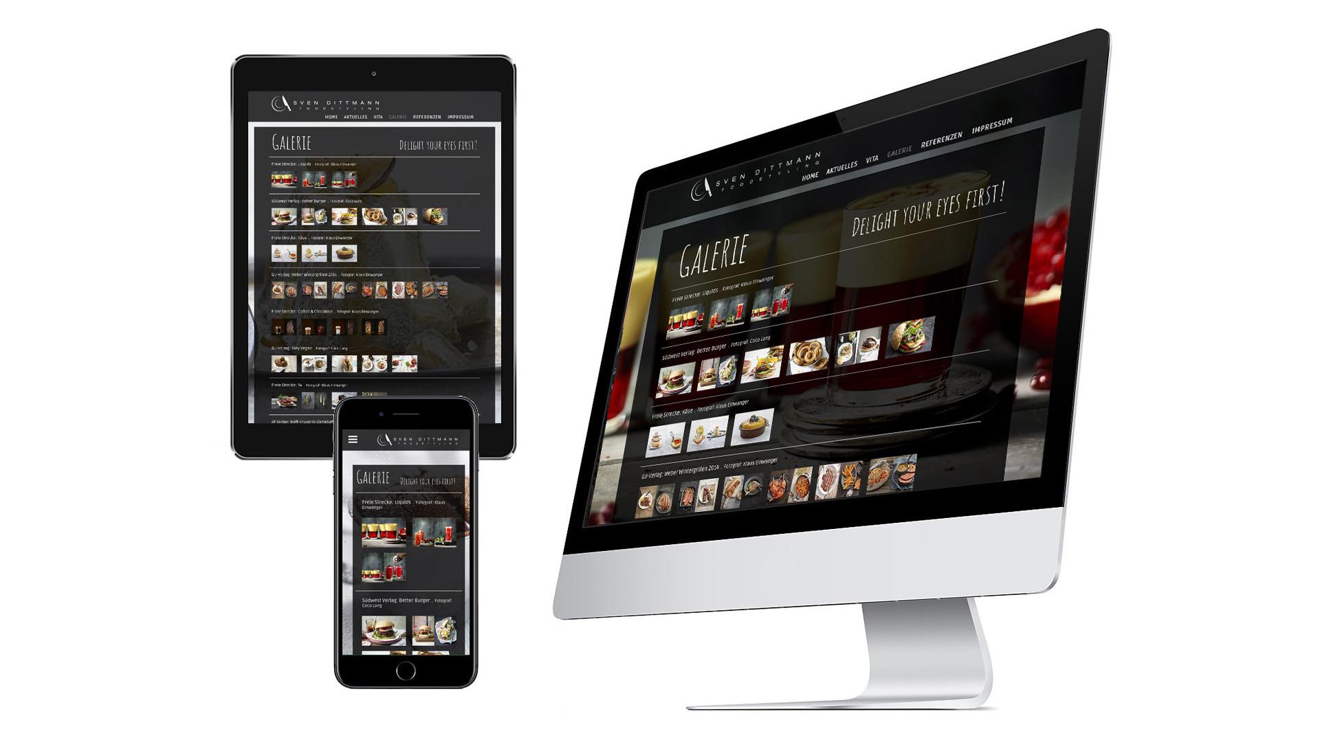 Neue Homepage - responsive Design speziell für Gastronomie und Hotelgewerbe