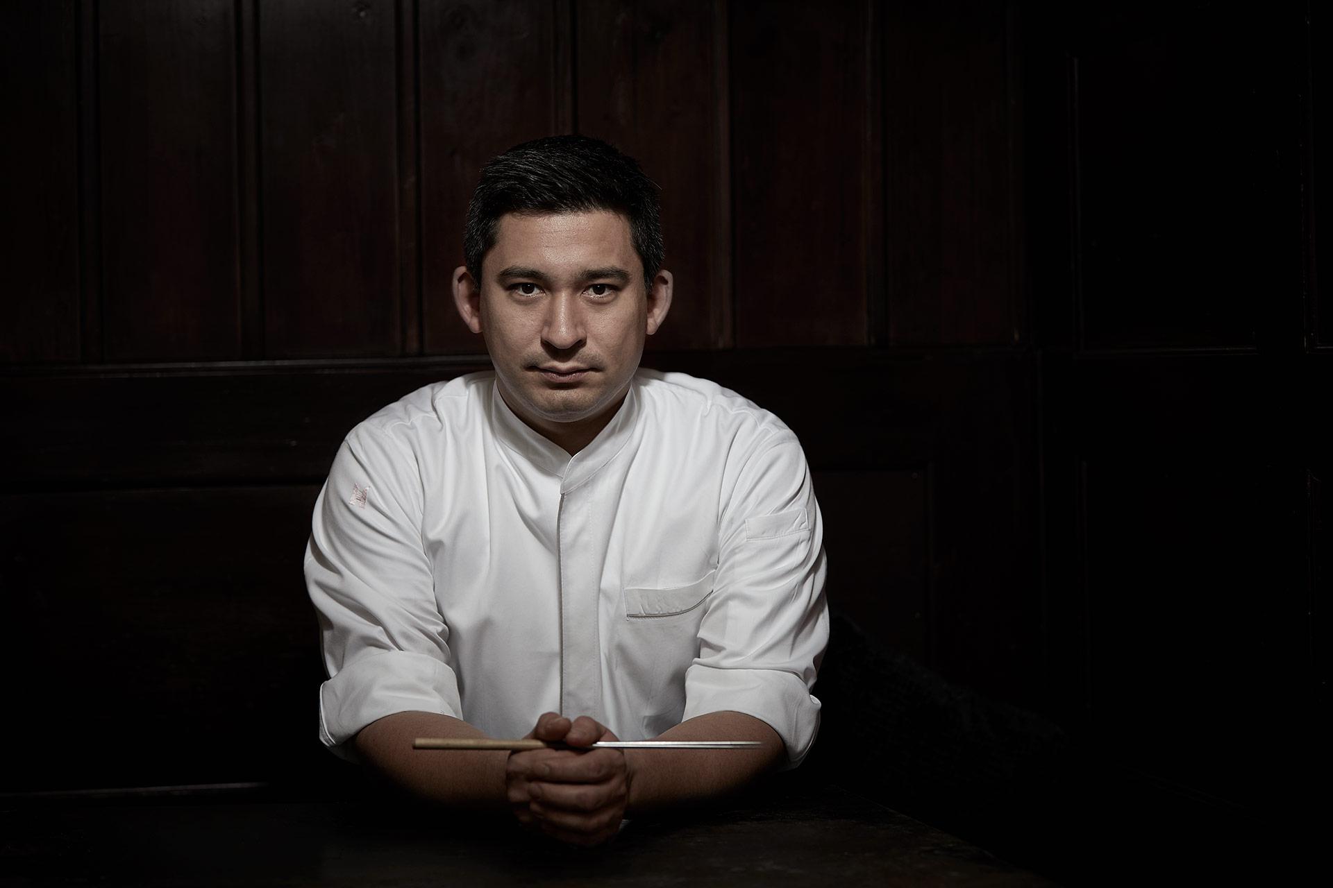 Portrait Fotografie Sternekoch Tohru Nakamura