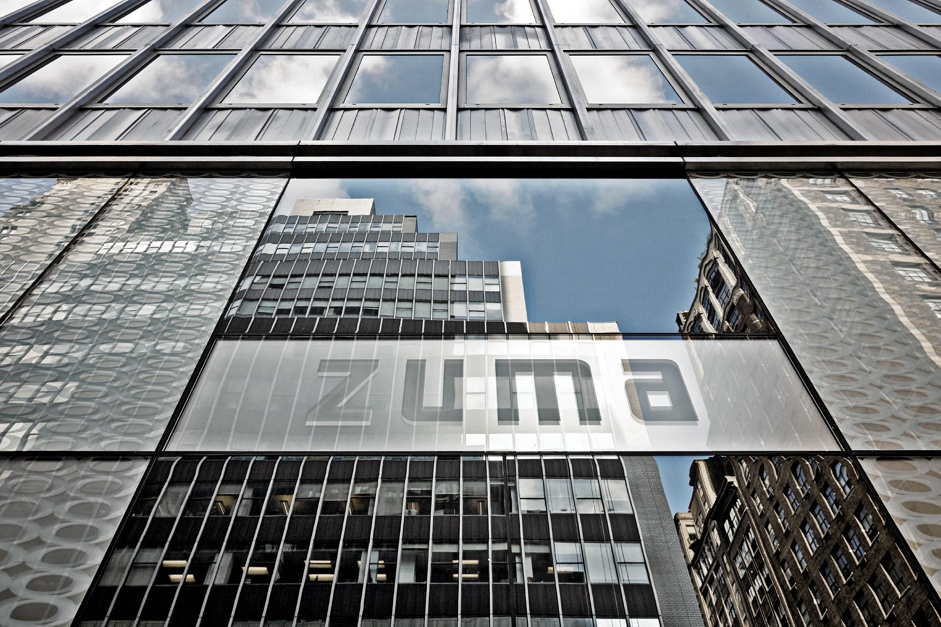 Contenproduktion Zuma New York Fassade 2