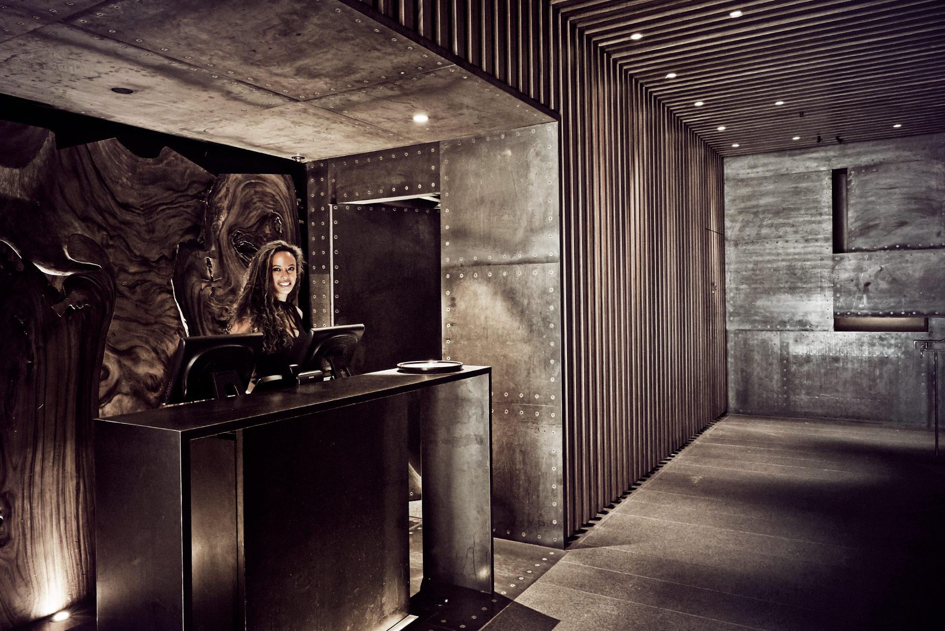 Contenproduktion Zuma New York Eingangsbereich