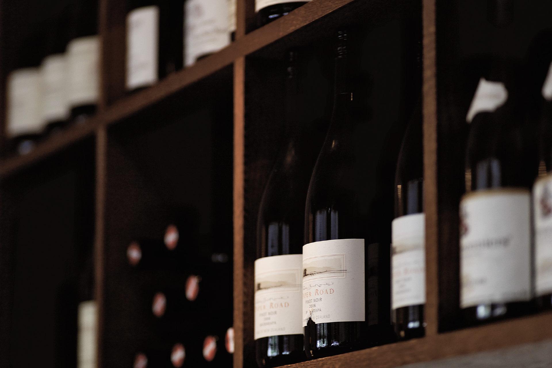 Restaurant Bild Weinlager eingedeckt Bild 4y
