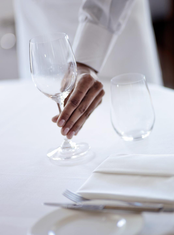 Restaurant Bild Glas  eingedeckt Bild 61