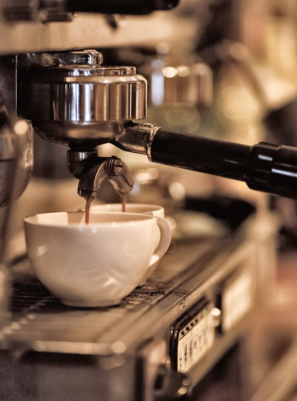 Restaurant Bild Kaffe eingedeckt Bild dxw